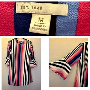 Cato Striped Dress